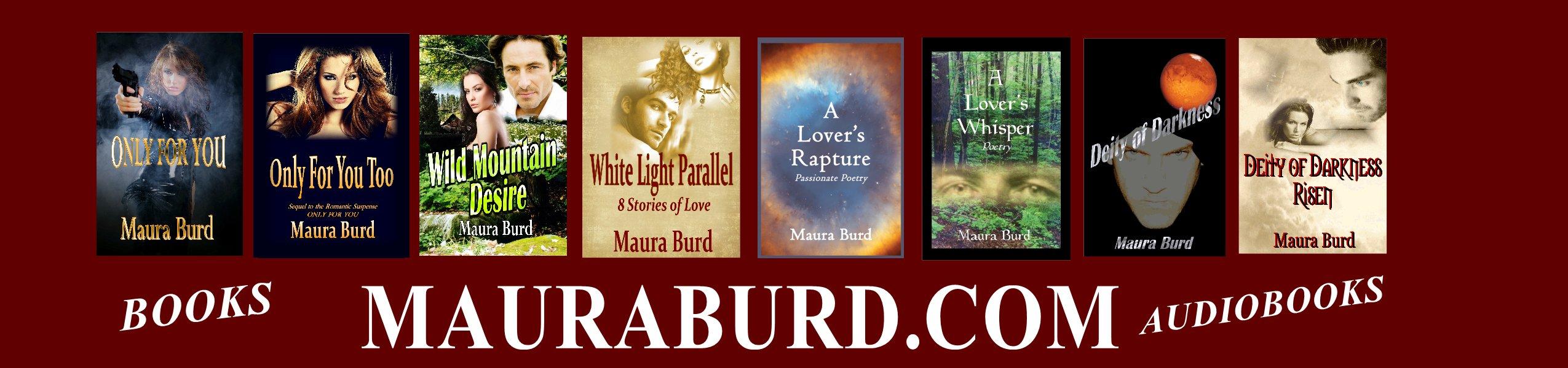 Maura's Books - Maura Burd